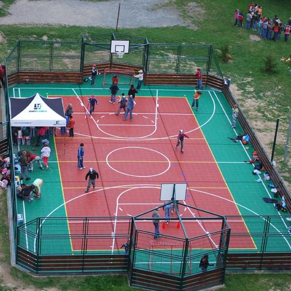 Баскетбольные площадки. Стритбол 3 x 3.