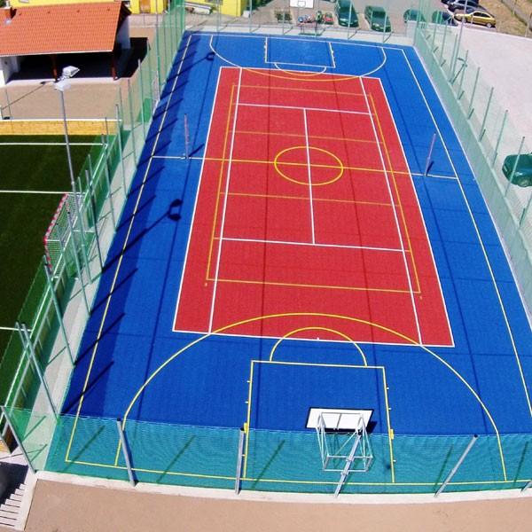 Баскетбольные площадки.