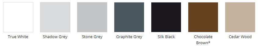 Стандартные цвета плитки Берго Роял