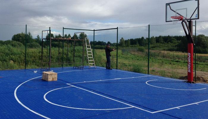 Покрытие для баскетбольных площадок
